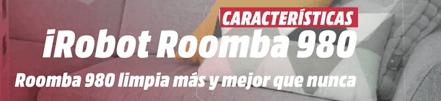 iRobot Roomba especificaciones modelo 980