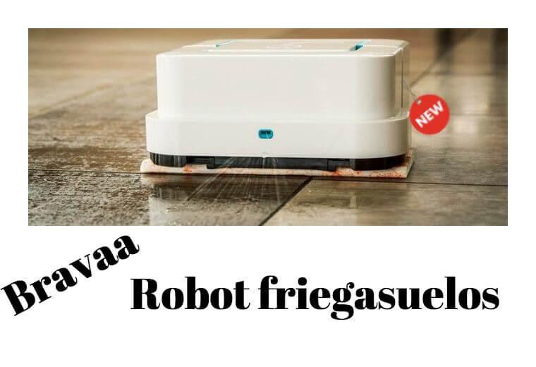 Fregona robot aspirador
