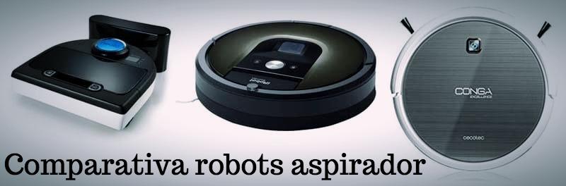 Comparativa robot aspirador