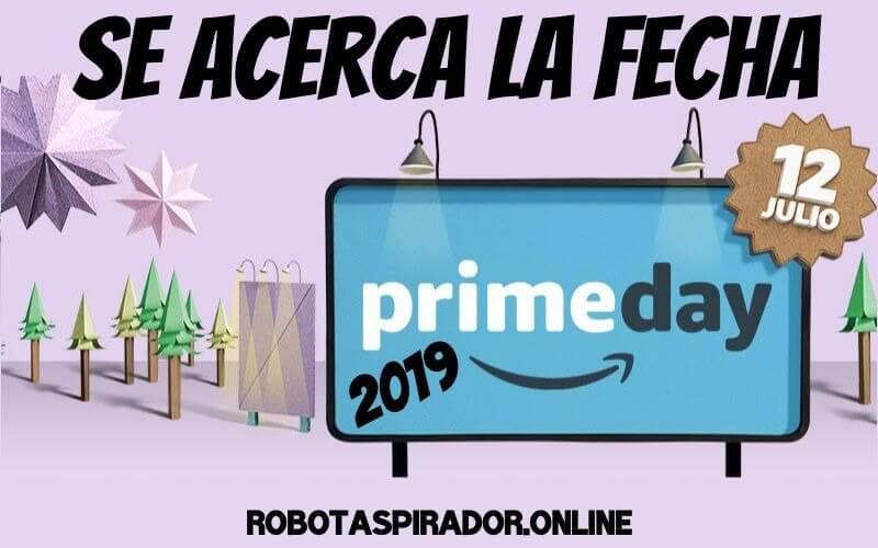 Robot aspirador Prime Day Julio